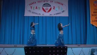 Angel & Chanel Bollywood Dance Performance
