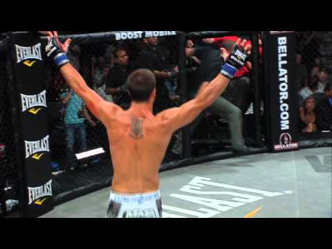 Bellator 48 Moment - Pat Curran KO&#039;s Marlon Sandro