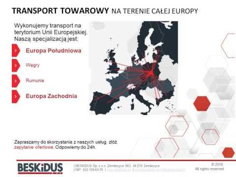 BESKIDUS International Transport