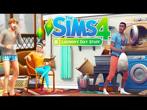 THE SIMS 4 LAUNDRY DAY STUFF TRAILER | REACTION/FIRST IMPRESSION + MY THOUGHTS