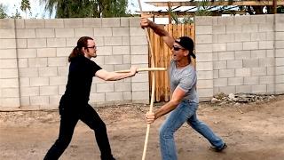 BO STAFF - Real Street Fight