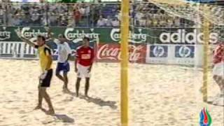 Azerbaijan 3 - 1 England (Beach football, Euro 2008)