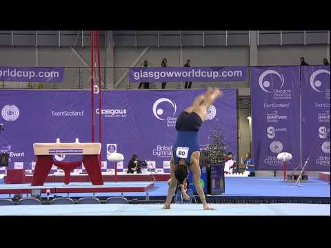 Danell Leyva (USA) Floor Glasgow World Cup