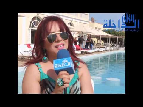 بشرى خالد مغنية وممثلة في لقاء خاص للداخلة الرأي