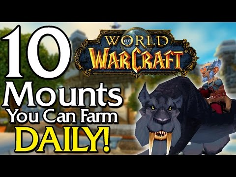10 Rare Mounts you can farm Daily [World of Warcraft]