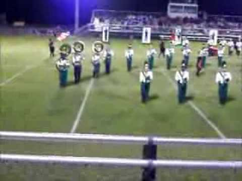 West Florence High School Marching Knights in the 2013 Sandhills Classic Band Invitational