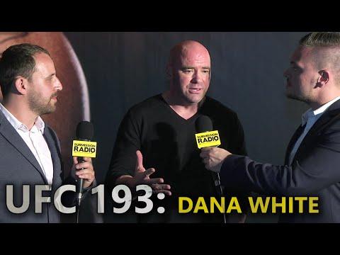 UFC 193: Dana White talks Rousey/Holm weigh-in altercation, Miesha Tate retiring