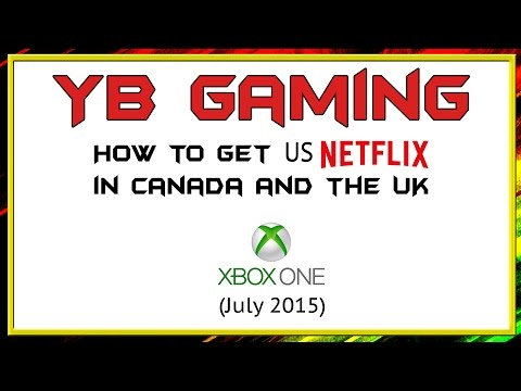 how to watch us netflix on wii in canada