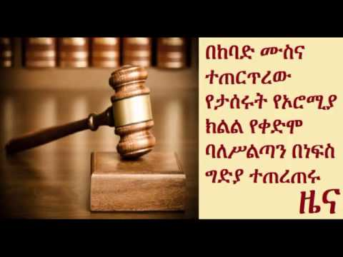 Oromia State's Head of Revenues wanted for Murder