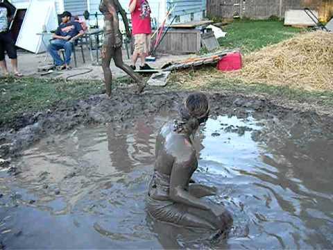 Backyard Mud Wrestling 2!!