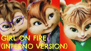 The Chipettes Girl On Fire Inferno Version