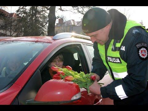 Kauno policijos staigmena moterims