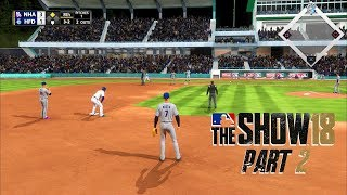 MLB 18 Road to the Show - Part 2 - FIRST PRO GAME!