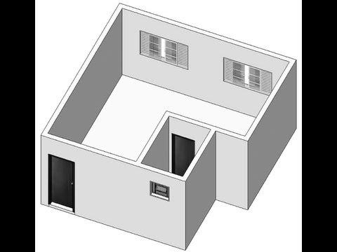 Como Modelar uma Quitinete no SketchUp