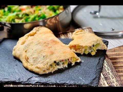 Calzone vegetariano - Vegetarian Calzone