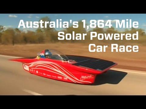 Solar Powered Cars Are Racing Across Australia