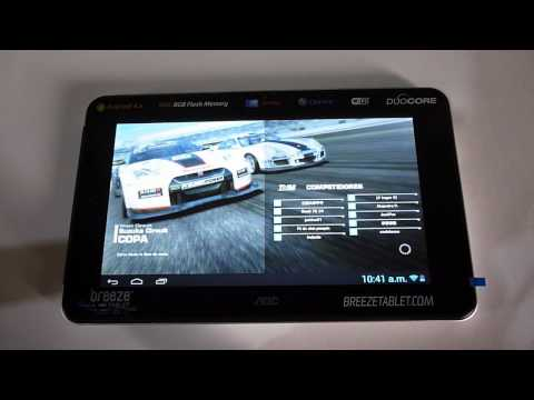 Tablet AOC Breeze G7 (MW0731). Unboxing y Análisis en Español