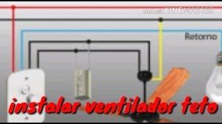 Como ligar ventilador de teto