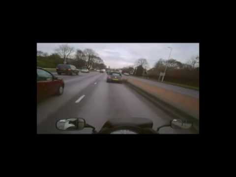 London motorcycle commuting - Honda CBF600.mp4 Video