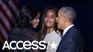 Michelle Obama Says Daughter Malia Urged Her Parents To 39 Just Be Cool 39 On Prom Night Access