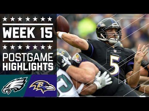 Eagles Vs Ravens Nfl Week 15 Game Highlights