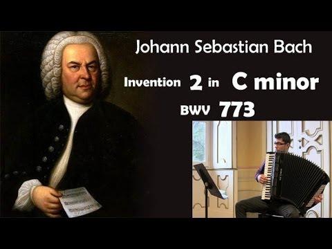 Бах Иоганн Себастьян - BWV 773 - Инвенция №2 (до минор)