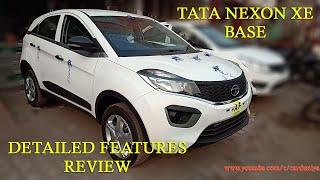 Tata Nexon XE Base-Detailed Features