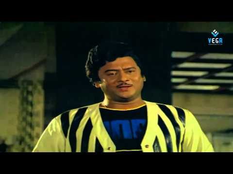 Puli Bebbuli Movie - Krishnam raju and Chiranjeevi Best Scene...