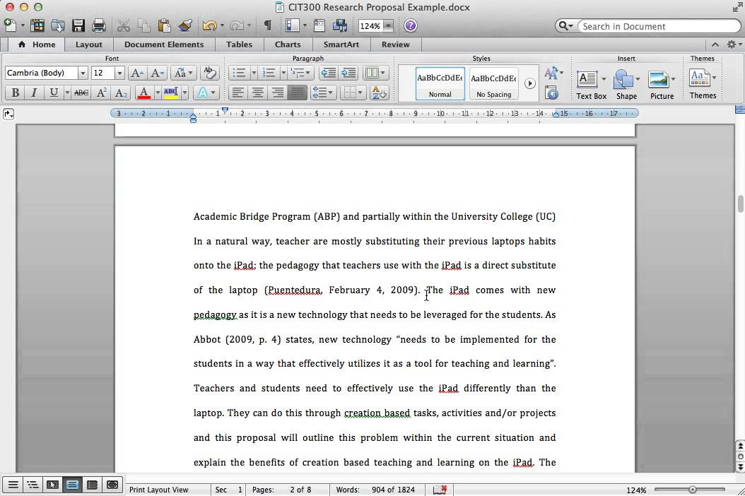 Background paper research write