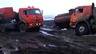 Авто приколы грузовиков..  Auto Truck fun ..
