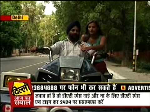 AAJ TAK Interview JAGJIT SINGH (Khan Market) - Car Modification for the Handicapped