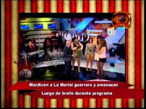MARDICEN A LA MARIEL GUERRERO Y AMENAZAN LUEGO DE BROLLO DURANTE PROGRAMA