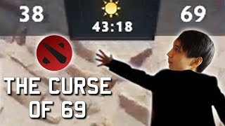 THE CURSE OF 69 IN DOTA (SingSing Dota 2 Highlights #1177)