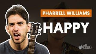 Pharrell Video - Happy - Pharrell Williams (aula de violão)