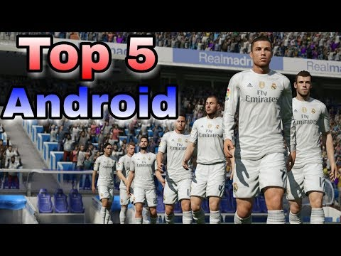 Top 5 football games for android । Best football games for android । Soccer games for android