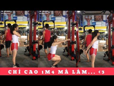 Chỉ Cao 1M4 Mà Làm TYM Anh Hết Chỗ (Động Lực Tập Gym Mỗi Ngày Của Em <3)