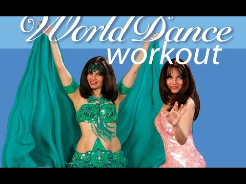 World Dance Workout DVD/instant video  Belly Dance, Bollywood, Salsa, Samba, and Flamenco!