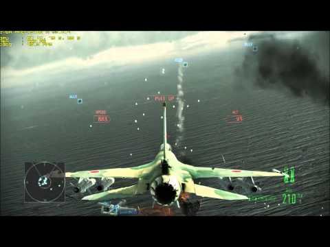 Ace Combat Assault Horizon Enhanced Edition Hostile Fleet