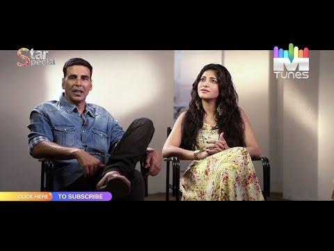 Akshay Kumar & Shruti Hassan talk about Gabbar Exclusive only on MTunes HD