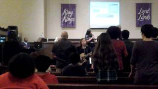 Offertory song at New Dimension Church