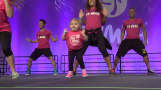 She Jumped On Stage And Immediately Stole The Show. Keep Your Eyes On Her Cute Little Feet!