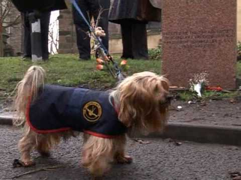 Greyfriars Bobby tribute