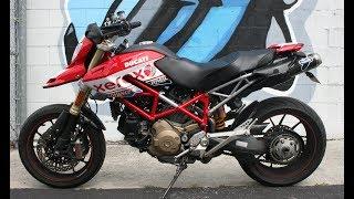 2009 Ducati Hypermotard 1100 ... very clean w nice upgrades!