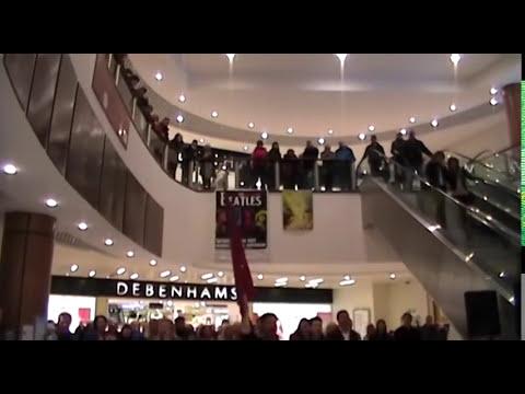 Les Miserables Flash Mob, Kingsgate Centre, Dunfermline.