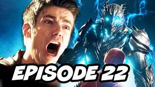 The Flash 3x22 Savitar Finale TOP 10 and Comics Easter Eggs