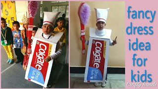 Colgate fancy dress costume|| with poem|| DIY||hand crafted costume and prop.