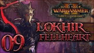 [9] Battle of the Dark Tides! -  Total War: WARHAMMER II (Lokhir Fellheart) - Vampire Coast DLC