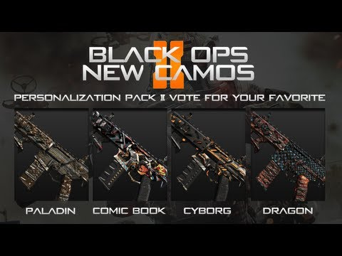 Call of Duty: Black Ops - NEW CAMOS - VOTE FOR YOUR FAVORITE - Kinda Old Info :P