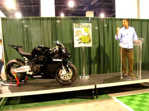 Mavizen TTX02 Press Conference and Reveal at SEMA 2009 Las Vegas