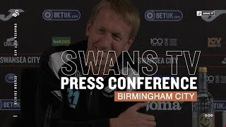 LIVE: Press Conference ahead of Birmingham City